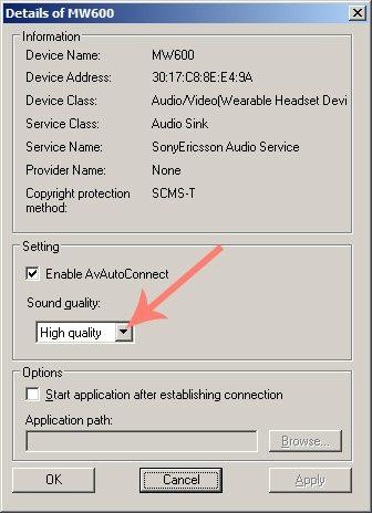 Качество звука для Bluetooth гарнитуры